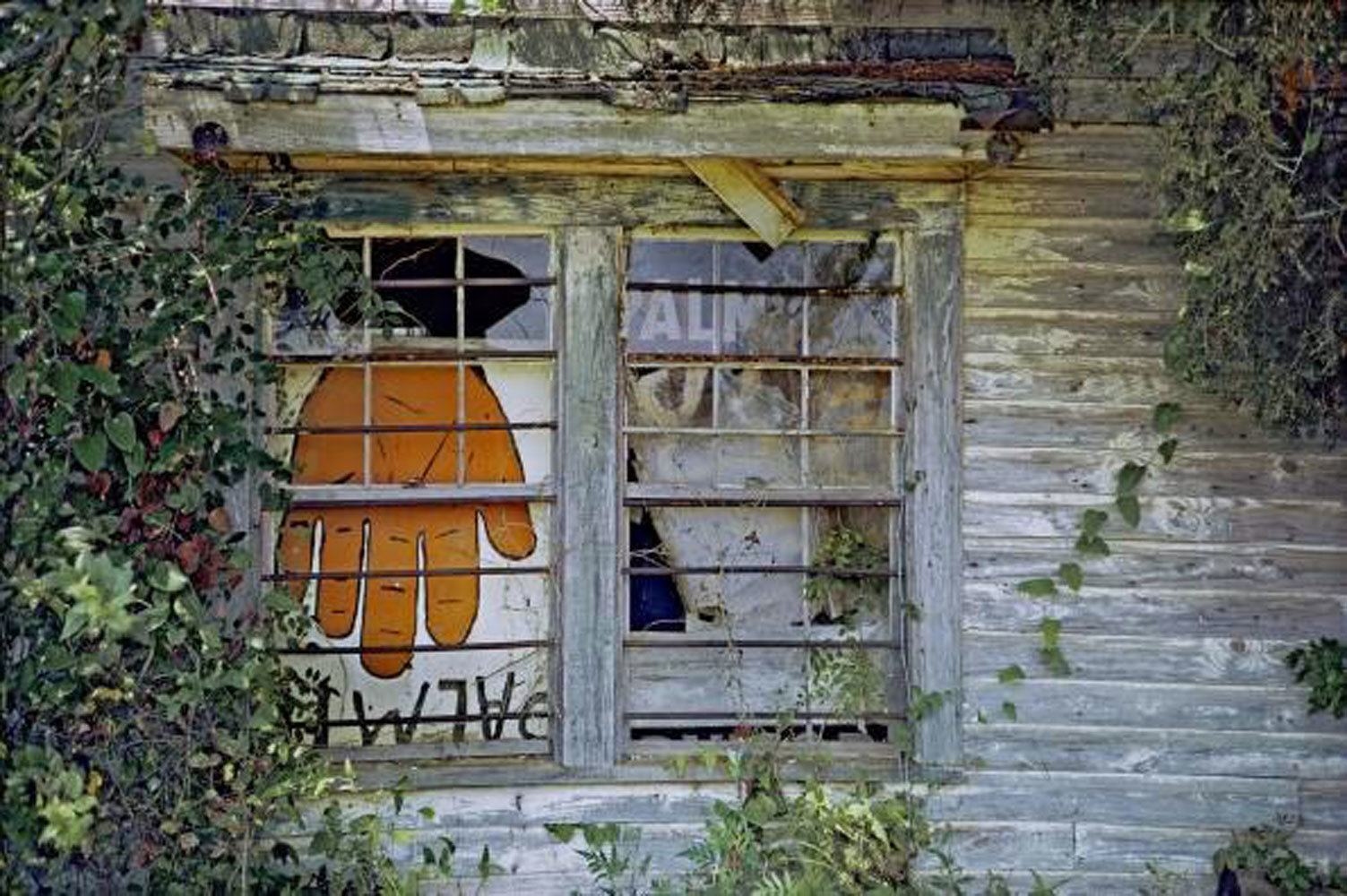 W.M.H. – 8/23/16 (William Christenberry, 1971)